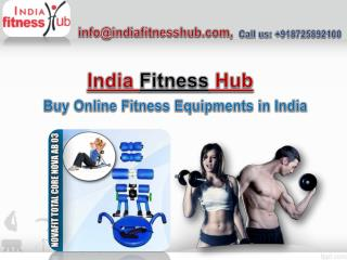 India Fitness Hub Offers Gym Equipment in Remarkable Price