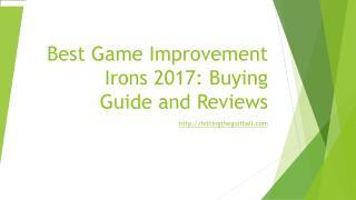 Best Game Improvement Irons
