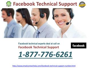 Facebook Support to Wipe Out your Facebook Problem! @1-877-776-6261