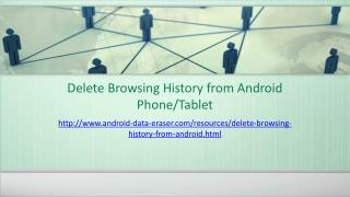 How to Erase Browsing History on Android Device?