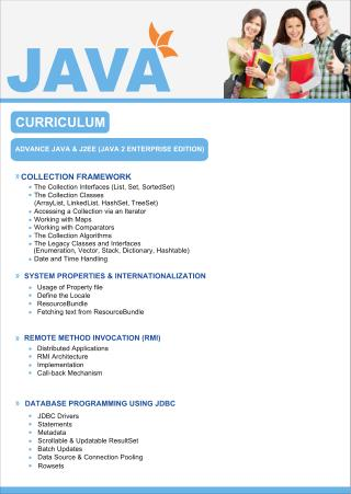 JAVA J2EE Training & certification Institutes In Delhi, Noida, Ghaziabad, Gurgaon, Faridabad, Greater Noida,Jaipur