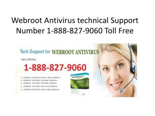 Webroot Antivirus 1-888-827-9060 Toll Free Support Phone Number