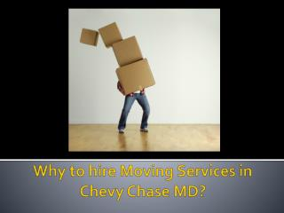 Why to hire moving services?