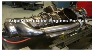 Highly Efficient Turbine Engines For Sale