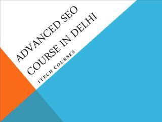 SEO Courses in Delhi