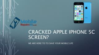 Best Apple iPhone 5C Repair Services from MobileRepairs4U