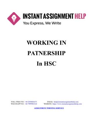 Sample Assignment on Health & Social Care