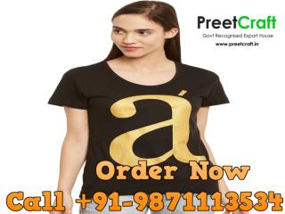 t-shirt manufacturers and suppliers in India (Low Price )  91-9871113534