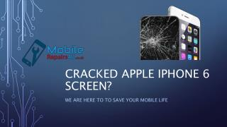 Best Apple iPhone 6 broken screen, camera and battery Repair Services