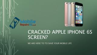 Best Apple iPhone 6s broken screen, camera and battery Repair Services