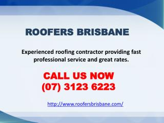 Roofing Contractors Brisbane