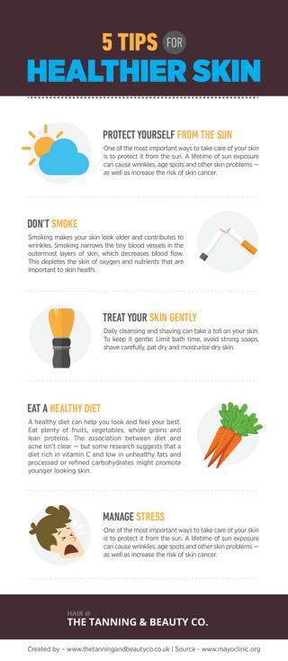 5 Tips for Healthier Skin
