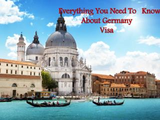 Everything You Need To Know About Germany Visa