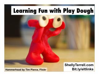 Learning Fun with Play Dough