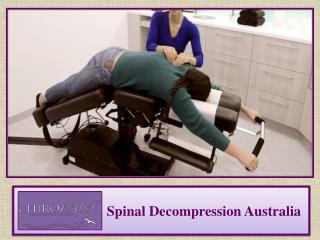 Spinal Decompression Australia