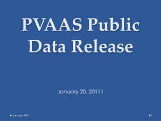 PVAAS Public Data Release