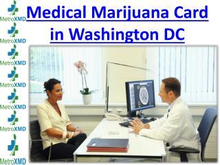 Medical Marijuana Card in Washington DC