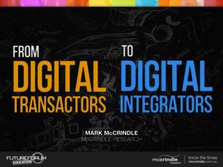 Digital Transactors vs Digital Integrators: A Quiz