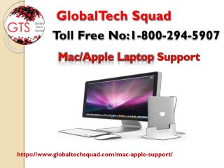 Mac Laptop Support in Usa Toll Free: 1-800-294-5907