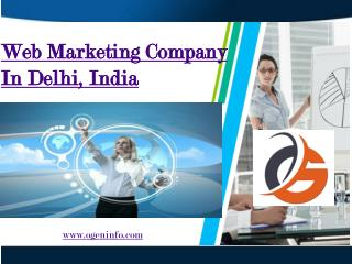 Web Marketing Company In Delhi, India