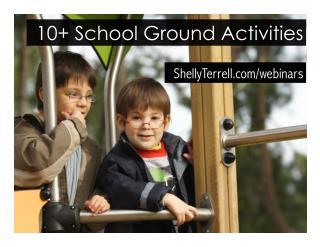 10  Activities to Do Around the School Ground