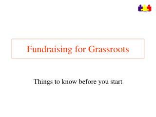 Fundraising for Grassroots