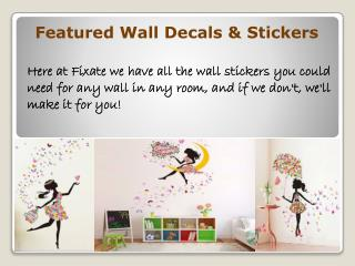 How to Install Wall Decals Properly?