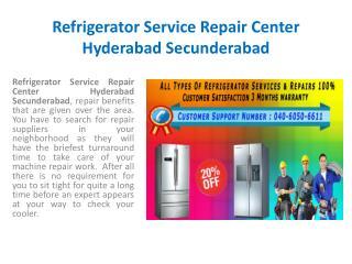 Refrigerator Customer Care Service Repair Center Hyderabad Secunderabad
