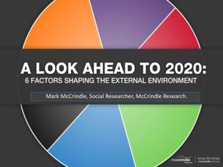A Look Ahead to 2020: 6 Key Trends Impacting Business and Society