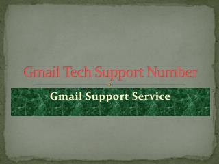 Gmail Technical Support Number 1-844-209-3224 US
