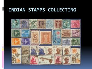 Indian Stamps Collecting