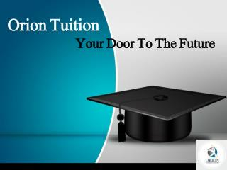 Orion Tuition Centre – Best Choice for H2 Maths and Physics Tuition