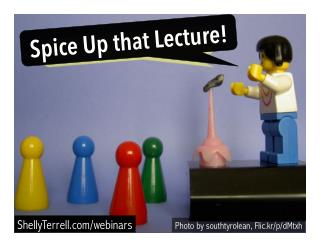 Spice Up That Lecture