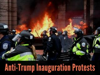 Anti-Trump inauguration protests