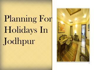 Marugarh Resort- Rajasthani Hotels in Jodhpur