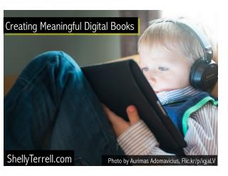Creating Digital Books that Help Others