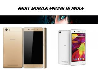 Best mobile phone in india