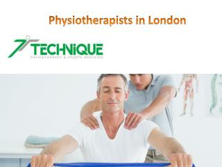 Physiotherapists in London