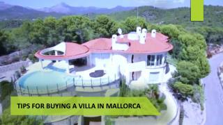 Tips for Buying a Villa in Mallorca