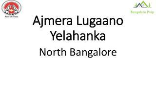 Ajmera Lugaano Yelahanka Bangalore