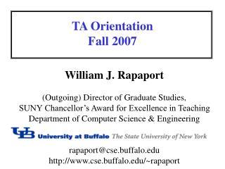 TA-orientation