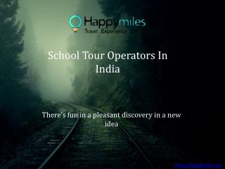 school travel companies | school tour operators