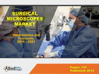 Surgical Microscope Market Growth & Industry Forecast 2022