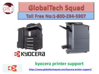 Kyocera Printer Support Toll Free 1-800-294-5907