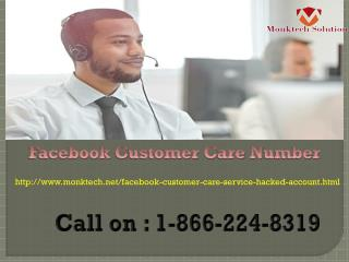 Facebook Customer Care Number 1-866-224-8319  : A Door Stop Solution