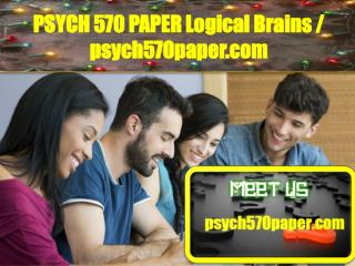 PSYCH 570 PAPER Logical Brains/psych570paper.com