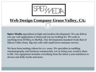 Web Design Company California