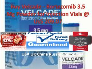 Buy Bortezomib 3.5 Mg Powder for Injection Vials @ Us$ 209.07
