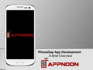 PhoneGap App Development- A Brief Overview