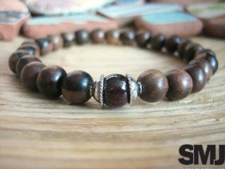 Wooden Bead Bracelets for Men - Select Men's Jewelry